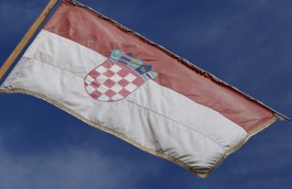 Hrvatska zastava u Kninu