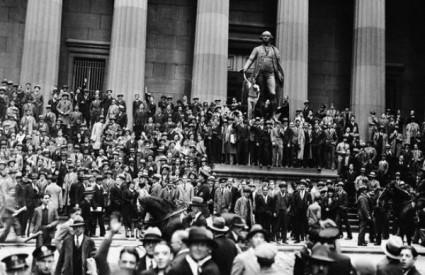 New York nakon pada Wall Streeta (Black Thursday)