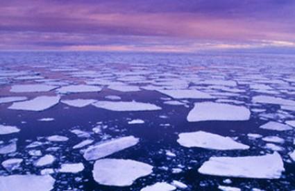 Led se rastapa
