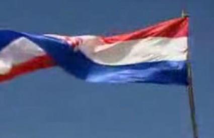 Zastava na kninskoj tvrđavi postala je simbol