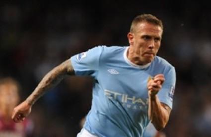 Napadač i 'udarač' Man Citya Craig Bellamy