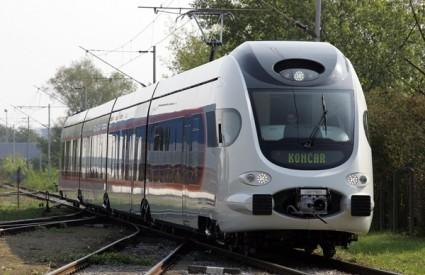 Pogledajte futurističku unutrašnjost novoga vlaka