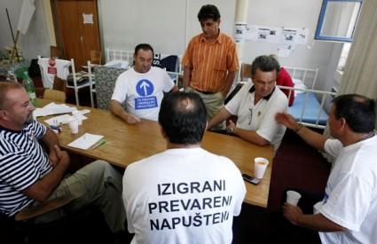 Radnici Salonita štrajkom glađu prošle su se godine borili za svoja prava