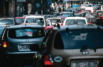 Prometna gužva u Zagrebu