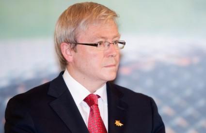 Australski ministar vanjskih poslova Kevin Rudd često dobiva poštu namijenjenu njegovom austrijskom kolegi