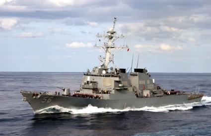 Špijunski ruski brod u Mediteranu