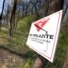 Vandali uništili 36 oznaka minske opasnosti