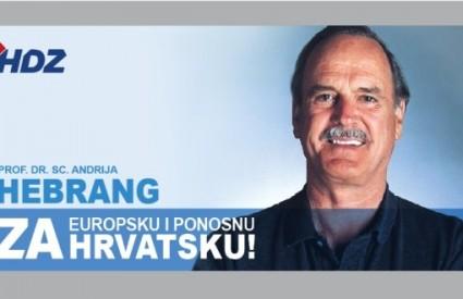 Je li to Hebrang ili John Cleese - pitali su se maštoviti photoshoperi predizbornih plakata na prošlim predsjedničkim izborima