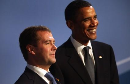 Barack Obama Dmitrij Medvedev