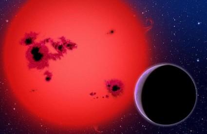 Vodeni planet u blizini Zemlje