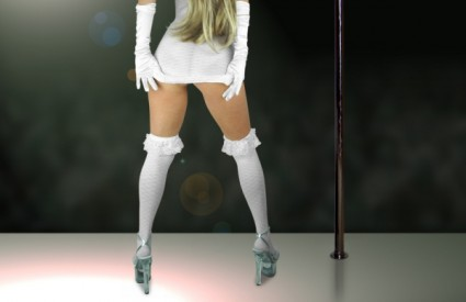 Striptiz je dio predigre četvrtini žena