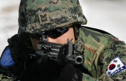 U razmjeni vatre poginuo je južnokorejski vojnik