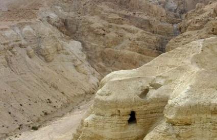 Pećina u kojoj su svici pronađeni