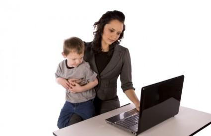 Zaposlene žene majke imaju jako malo vremena za sebe