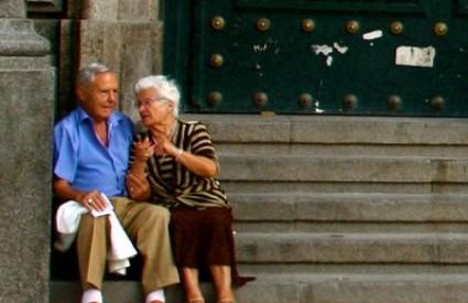 Stariji bračni par