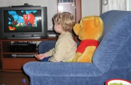 Pazite koliko vam djeca gledaju TV