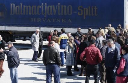 Dalmacijavino štrajk