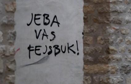 Ovaj grafit je potpuno u pravu :)