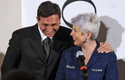 Jadranka Kosor i Borut Pahor