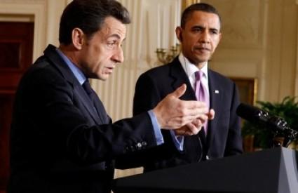 Obama i Sarkozy