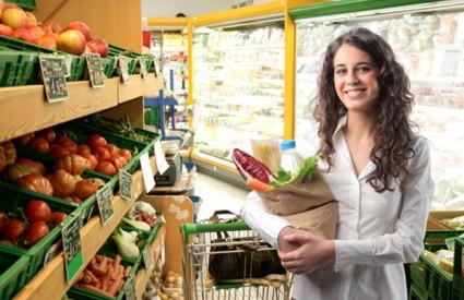 zdrava hrana kupovanje