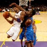 Bryant igrao katastrofalno, Lakersi 'presušili' kod Thundera
