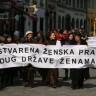 Ženska mreža Hrvatske prosvjednom šetnjom obilježila Dan žena