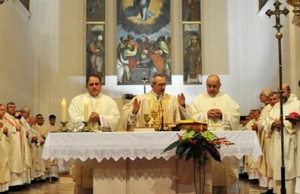 Ustoličenje novog Zadarskog nadbiskupa