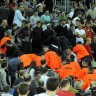 Na utakmici Cibona - Partizan privedeno 19 osoba
