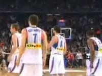 Cibona Partizan koš Kecmana