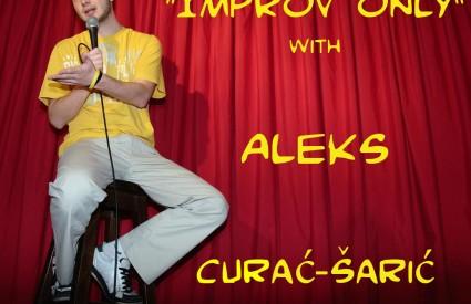 One man show Aleks Curać Šarić IMPROV only Movie pub stand-up