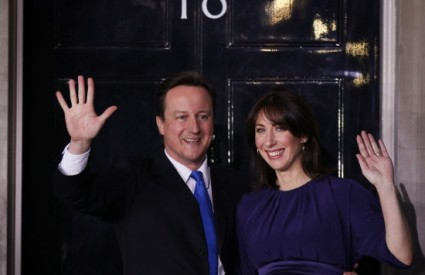 David i Samantha Cameron