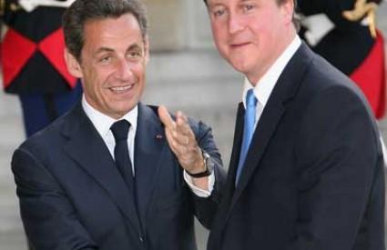 Nicolas Sarkozy David Cameron kriza G20