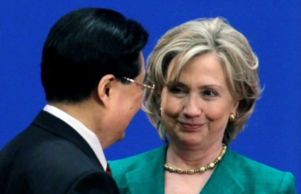 Kina Sjeverna Koreja Clinton