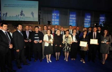 nagrade gospodarstvo najuspješniji poduzetnici
