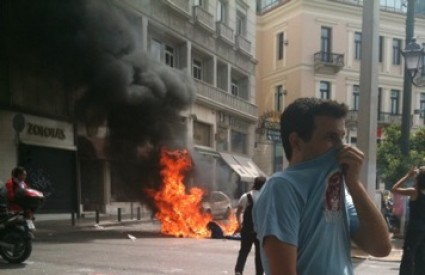 Nakon nedavnih nereda, novi problemi u Grčkoj