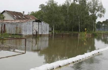 Končanica Ilova poplava stanje u prometu