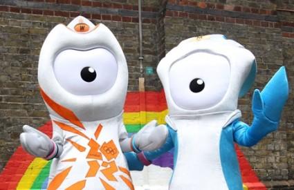 Maskota Olimpijske igre London 2012.