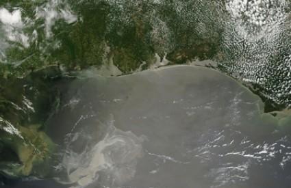 naftna mrlja BP Louisiana