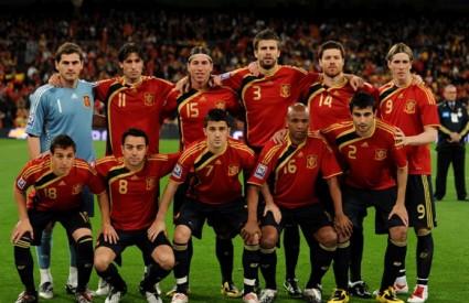 španjolska nogometna reprezentacija SP