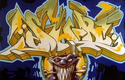 SUB grafiti Tony Curanaj