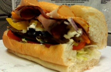 Prvi sendvič bio je prilično jednostavan