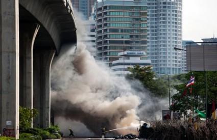 Tajland crvenokošuljaši prosvjed