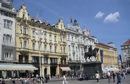 Zagreb strani turisti