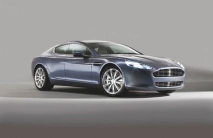 Aston Martin Rapide postiže brzinu od 100 kilometara na sat za samo 5,2 sekundi