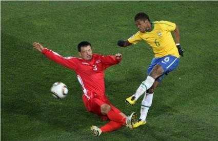 brazil sjeverna koreja nogomet svjetsko prvenstvo 2010.