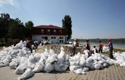Vukovar Dunav vodeni val