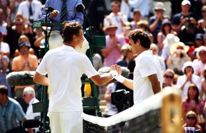 roger federer tomas berdych tenis wimbledon