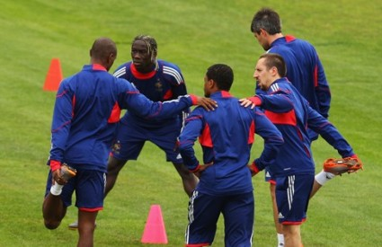 Francuski su treninzi siguro zanimljiviji od ove utakmice