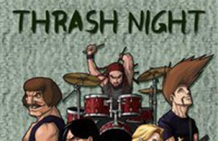 thrash metal slušaona